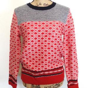 Joe Fresh Fair Isle Style Ski Sweater - S